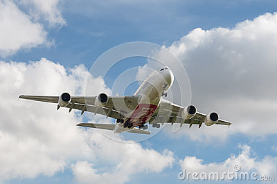 Emirates Airbus A380 Editorial Photo