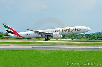 Emirates Boeing 777 Editorial Photography