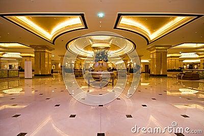Emirates Palace Hotel Lobby