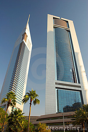 Free Emirates Towers Dubai Royalty Free Stock Photo - 3683755