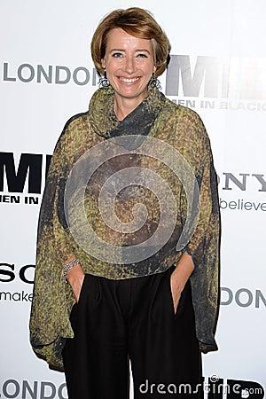Emma Thompson Editorial Stock Photo