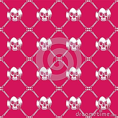 Emo_background Vector Illustration