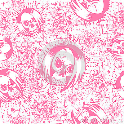 Emo_background Vector Illustration