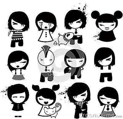 Emo characters