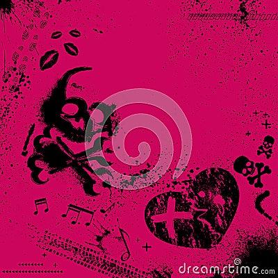 Emo-Hintergrund