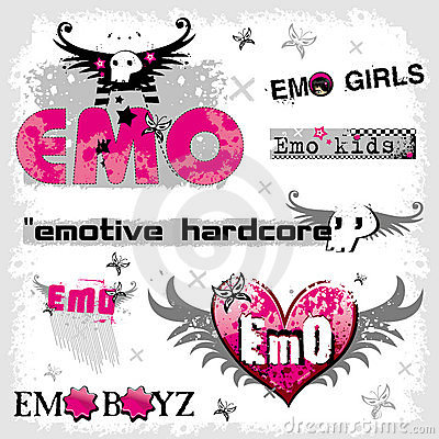 Free Emo Logos Stock Photography - 5542592