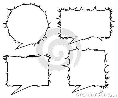 Emo talk dialogs