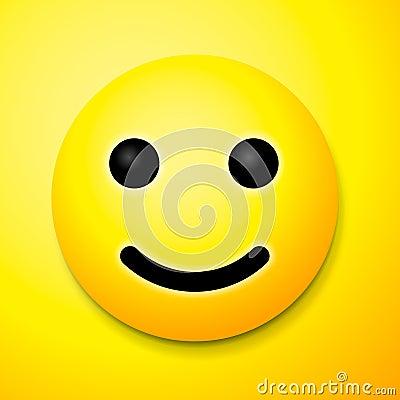 emoji smile symbol stock illustration image 63489797