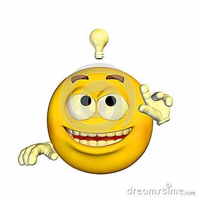 Emoticon - Brilliant Idea