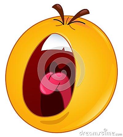 Emoticon de grito