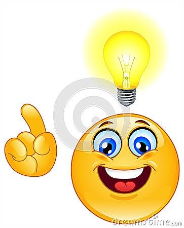 Emoticon de la idea