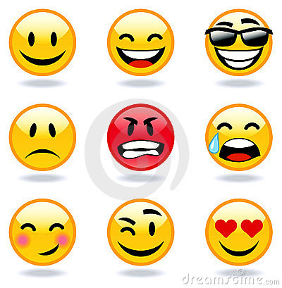 Emoticon faces