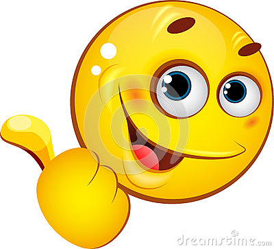 Emoticon Showing Thumb Up Stock Images Image 31247464