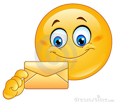 Free Emoticon With Envelope Royalty Free Stock Image - 20670236