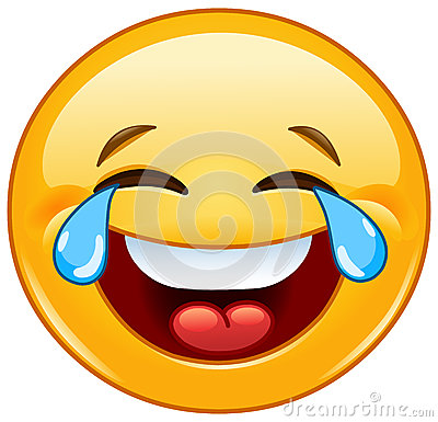 Free Emoticon With Tears Of Joy Royalty Free Stock Image - 47729966
