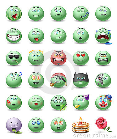Free Emoticons Royalty Free Stock Images - 12697379