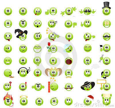 Free Emoticons Stock Photos - 18972253