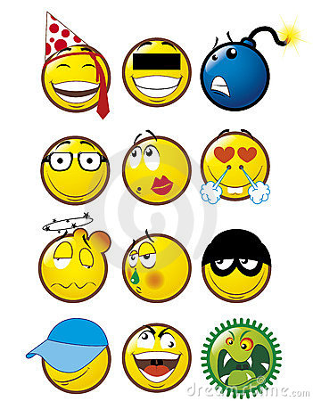 Free Emoticons 4 Stock Photo - 6657690