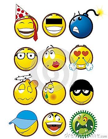 Free Emoticons 4 Stock Photo - 6657690