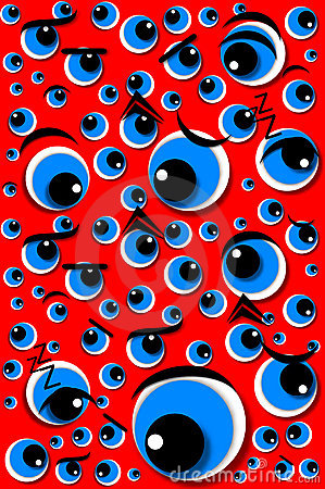 Emotion Series Mixed Emotions Eyes Red