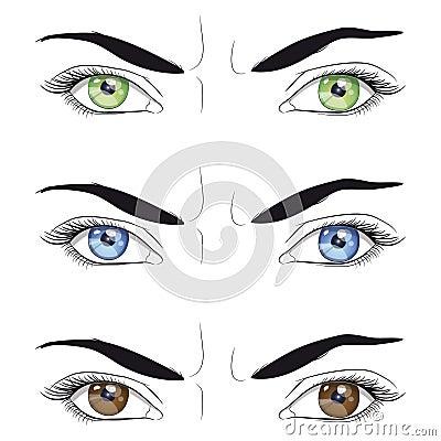 Emotional eyes