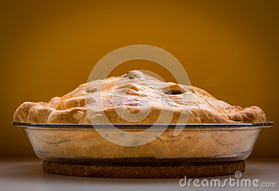 Empanada de manzana hecha en casa