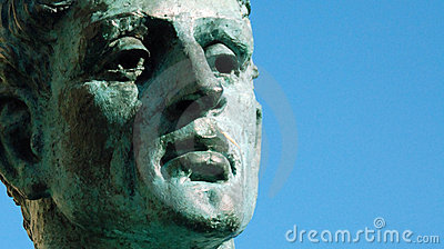 Emperador Constantina 4 Imagen de archivo editorial