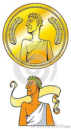 Emperor coin