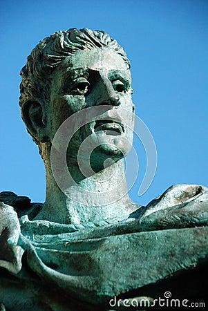 Emperor Constantine 2 Editorial Stock Photo