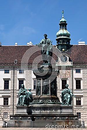 Emperor Franz I monument