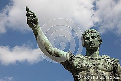 Emperor Gaius Augustus statue
