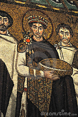 Emperor Justinian Stock Photography Image 22004832