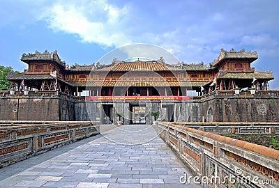 Emperor palace in Hue, Vietnam