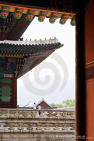 Emperor palace in Seoul