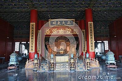 The emperor s throne