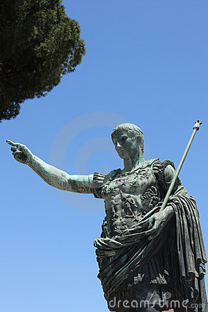 Free Emperor Trajan Sculpture In Rome,Italy Stock Photos - 9815913