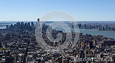 Empire State Building Redaktionelles Stockfoto