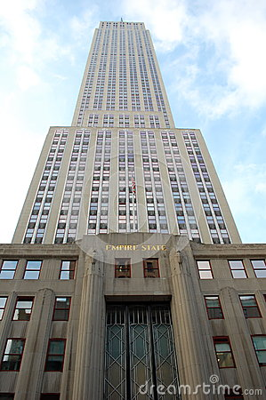 Empire State Building Foto Editorial