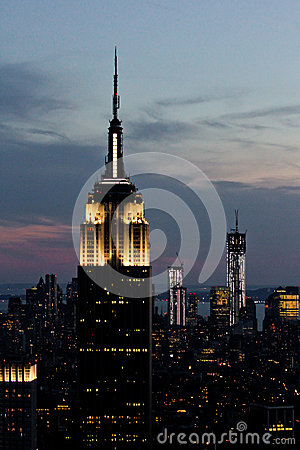 Empire State Building, Manhattan, NYC Editorial Image