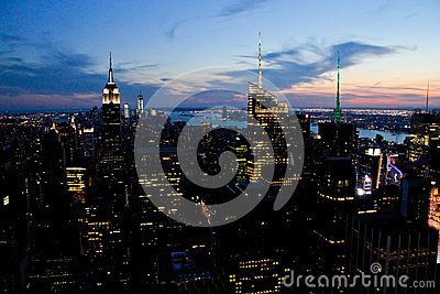 Empire State Building, Manhattan, NYC Editorial Photography