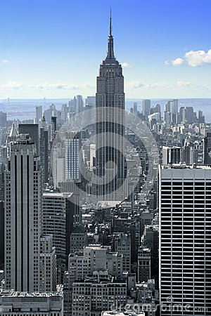Empire State Building in New York Editorial Stock Image