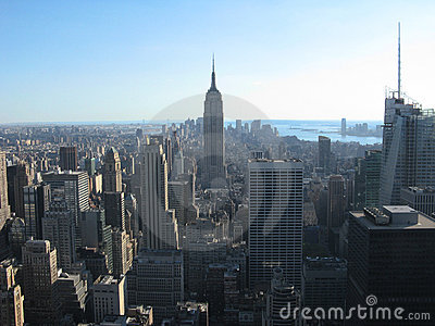Empire State Building and New York City