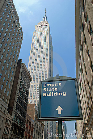 Empire State Building in New York City Editorial Stock Photo