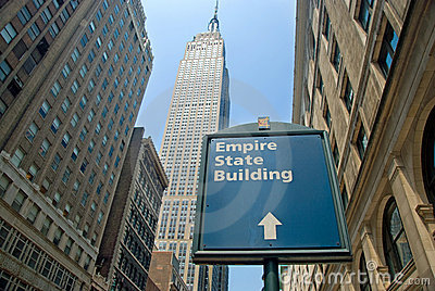 Empire State Building in New York City Editorial Photography
