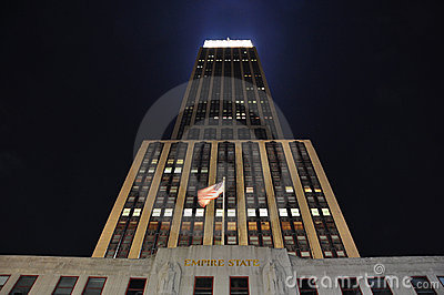 Empire state building in new york city Editorial Photo
