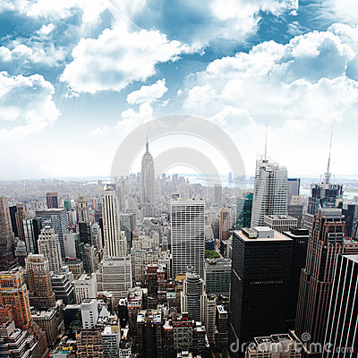 Free Empire State Building, New York (Manhattan, USA) Stock Images - 44732664