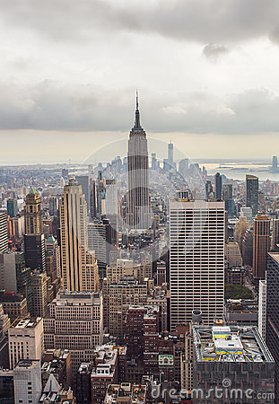 Empire State Building, New York Skyline