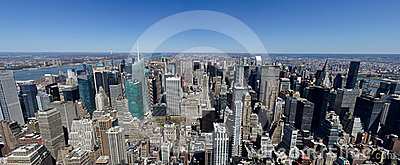 Empire State Building North View Editorial Stock Image