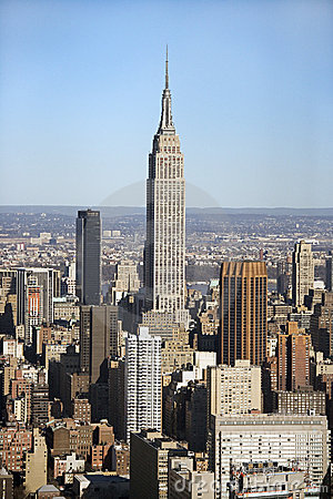 Empire State building, NYC Editorial Stock Image