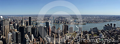 Empire State Building View Editorial Stock Photo